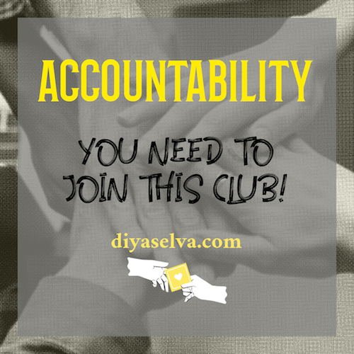 Accountability – You need to join this club!