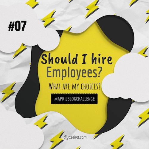 #07 Hire Employees Diya Selva
