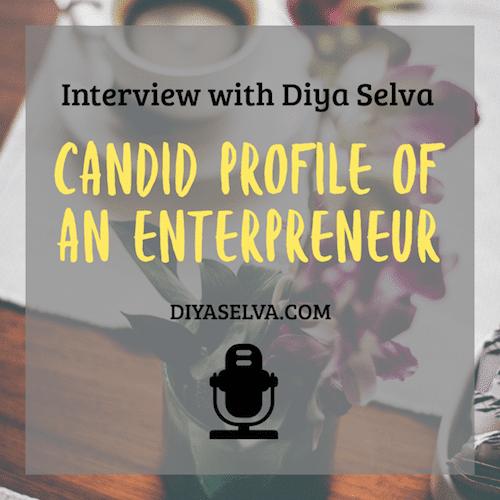 Interview with Diya Selva